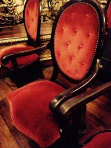 Cadeira atual