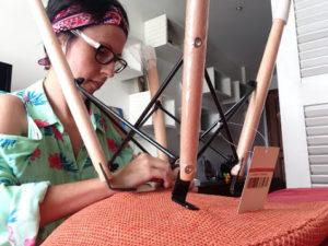 Montando a cadeira