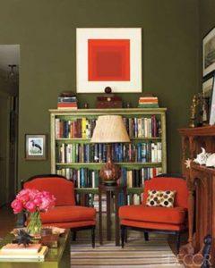 Como escolher cores para sala sem enjoar?