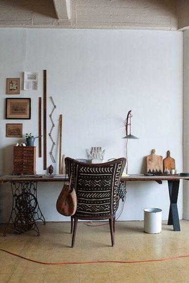 Decoração com máquina de costura antiga: 10 ideias