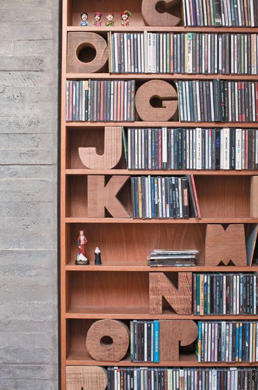 decoração com livros - Casa Prosa Décor