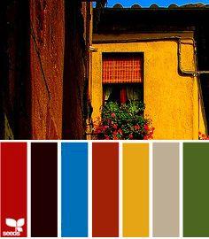 decorando a casa - paleta de cores