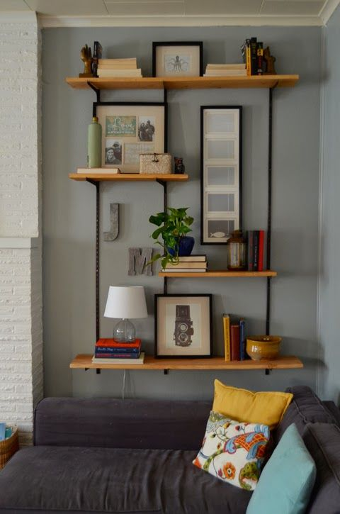 living room wall shelves ideas estante para sala o que colocar como decorar casa 20296