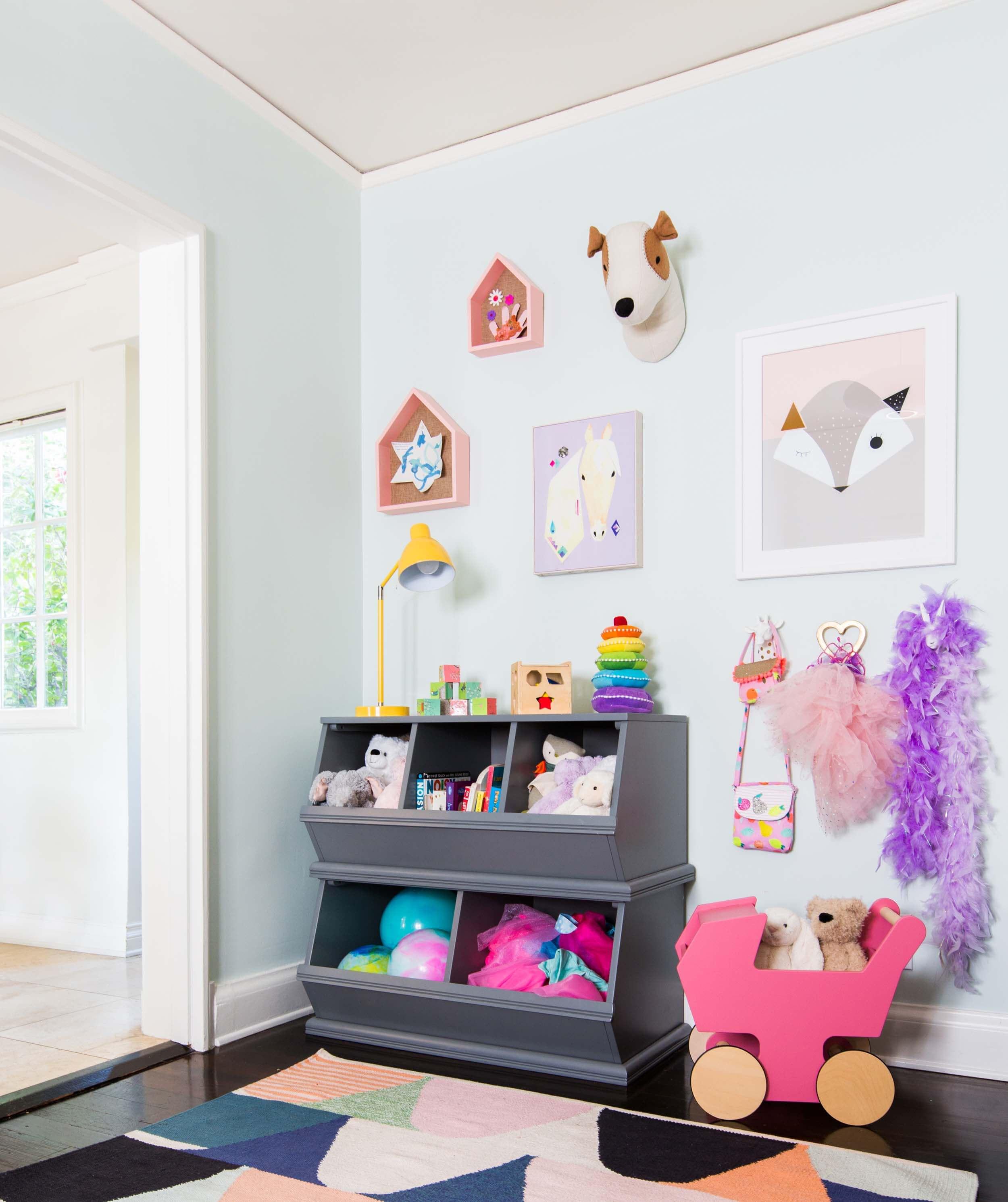 6 passos para um cantinho do brinquedo no quarto, na sala...onde der ;)