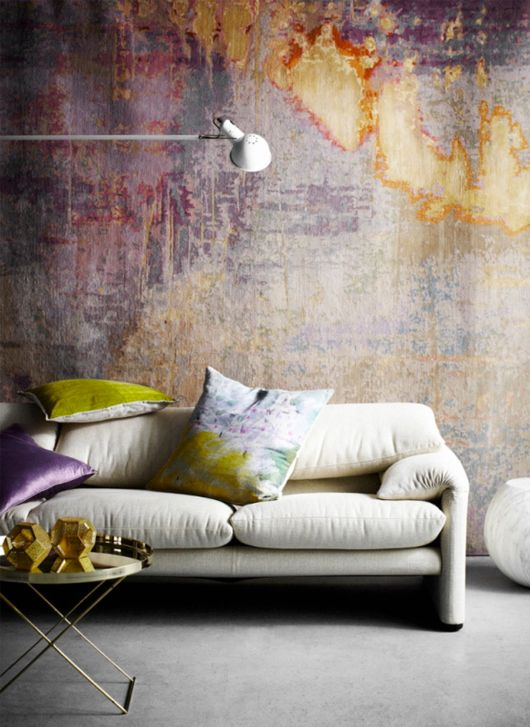 Ideias de decoração: visual desgastado é lindo, prático e barato