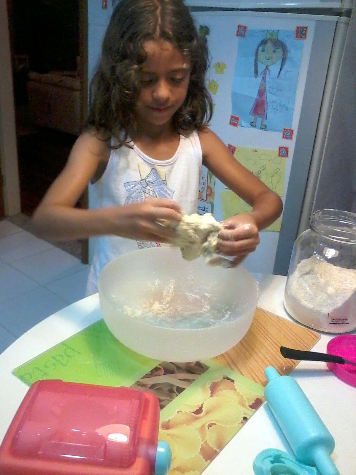 Cozinha é lugar de criança!
