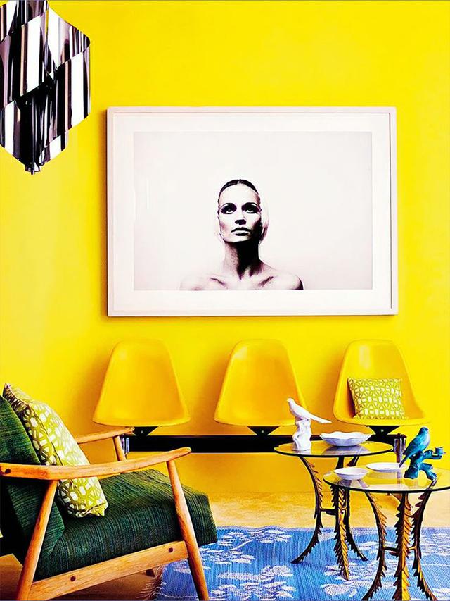Truque décor fácil: da casa de Monet pra sua -cores para parede