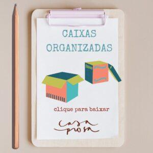 mudança organizada