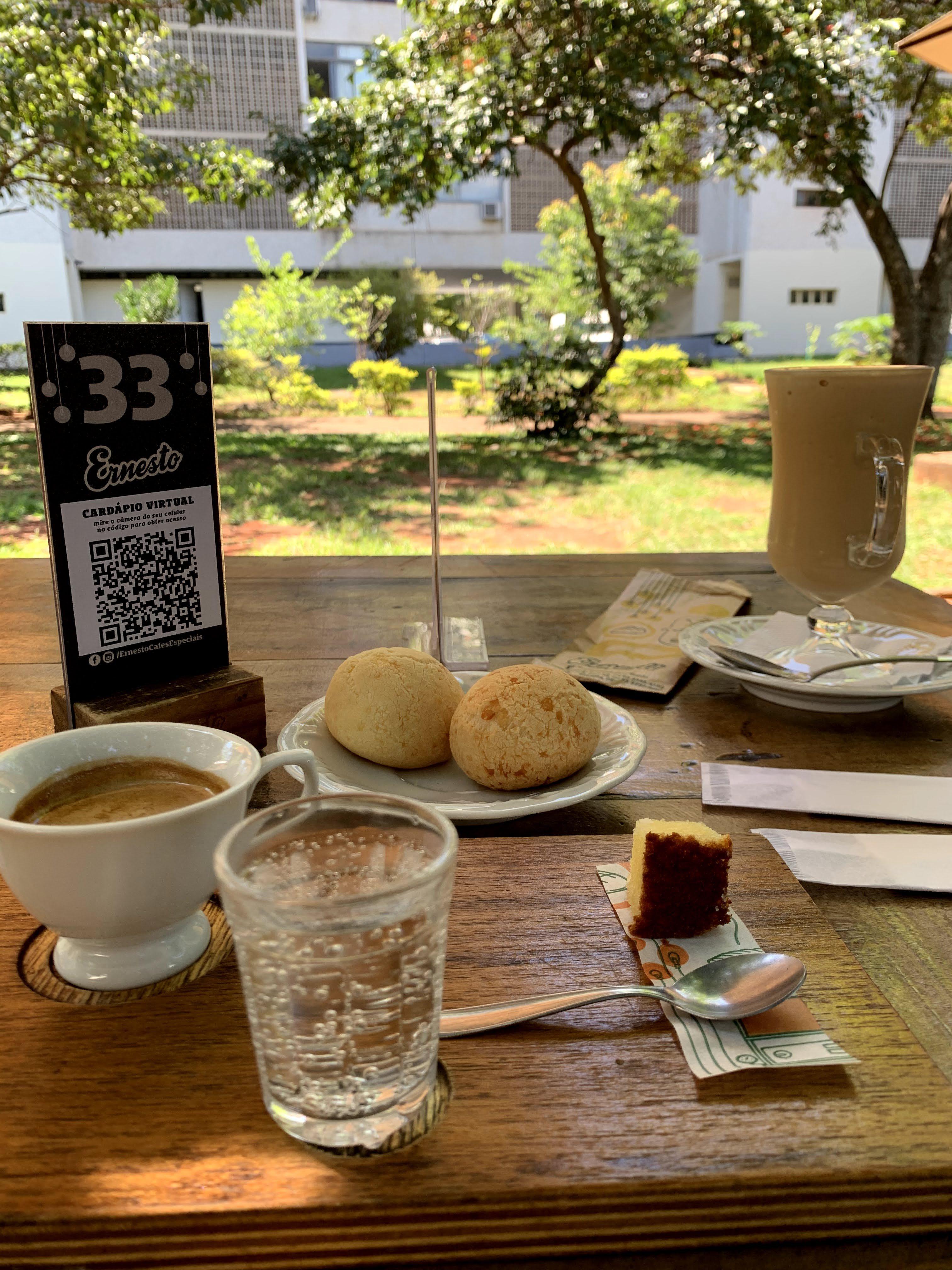Brasília e seus cafés charmosos